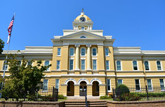Cleburne County Courthouse (Todd Evans) Tags: nikon d5600 cleburne courthouse heflin alabama al southern south architecture
