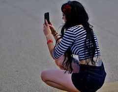 Photo Time (Tim @ Photovisions) Tags: xt2 girl fuji people fujifilm sailorstripes iowa tattoo