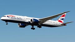 British Airways Boeing 787-9 G-ZBKJ (StephenG88) Tags: londonheathrowairport heathrow lhr egll 27r 27l 9r 9l boeing airbus august25th2019 25819 myrtleavenue renaissanceheathrow britishairways ba baw speedbird 787 789 7879 dreamliner gzbkj