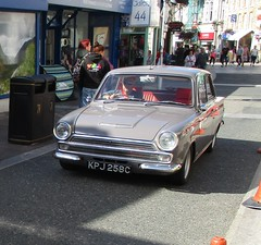 1965 Ford Cortina 1500 Super (occama) Tags: kpj258c 1965 ford cortina 1500 super old british car cornwall uk grey mark one mk1