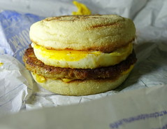 Sausage & Egg McMuffin® (Tony Worrall) Tags: images photos photograff things uk england food foodie grub eat eaten taste tasty cook cooked iatethis foodporn foodpictures picturesoffood dish dishes menu plate plated made ingrediants nice flavour foodophile x yummy make tasted meal nutritional freshtaste foodstuff cuisine nourishment nutriments provisions ration refreshment store sustenance fare foodstuffs meals snacks bites chow cookery diet eatable fodder ilobsterit instagram forsale sell buy cost stock egg mcmuffin® sausage bun bread mcdonalds breakfast
