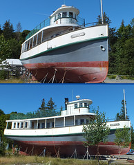 2019-08-31 30 (clarinetgirl) Tags: 2019 august 20190831 mainecoast2019 maine manset chippewa boat antique woodboat