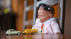 #Toys - #CrazyTuesday - 7412 (✵ΨᗩSᗰIᘉᗴ HᗴᘉS✵84 000 000 THXS) Tags: toys crazytuesdaytheme crazytuesday poupée cerise doll 2cv bus yellow blackdoll belgium europa aaa namuroise look photo friends be yasminehens interest eu fr party greatphotographers lanamuroise flickering fuji fujifilmgfx50s fujifilm