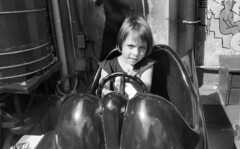 Batmobile (neilsonabeel) Tags: blackandwhite nikonfm2 nikon nikkor film analogue batmobile brooklyn newyorkcity