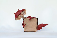 Thief of the Last geometry (Daniel_Jllo) Tags: origami origamiart art paper papiroflexia paperfold animals cats geometry