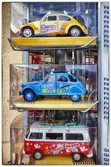 2CV modèle réduit, Camaret-sur-Mer (denisbrumaud) Tags: 2cv deuche deudeuche citroën bleu modèleréduit miniature camaret camaretsurmer finistère bretagne denisbrumaud