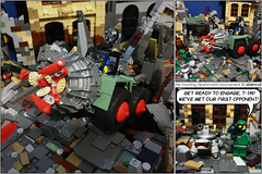 The Monday Deathmatch Tournament - Page 60 (Aliencat!) Tags: lego moc comic space post apoc apocalypse apocalyptic power miners mining miner drill yve