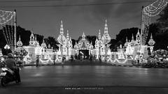 Chitralada Palace or the Chitralada Royal Villa, Bangkok (imageofbangkok) Tags: bangkok chitralada chitraladapalace chitraladaroyalvilla dusk kingbhumibol kingbhumibolsbirthday kingramaix krungthep palace people peopleofbangkok thailand twilight