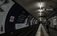 Convergence (PChamaeleoMH) Tags: oldstreet patterns people platform station tube underground