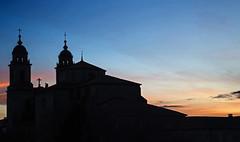 Iglesia y convento de San Francisco, Santiago de Compostela (Miguelanxo57) Tags: contraluz silueta arquitectura iglesia sanfrancisco barroco sigloxviii santiagodecompostela acoruña galicia