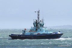 Ship. Phenix 9408023 (dickodt65) Tags: ship southampton tug phenix