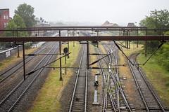 Train tracks (Hans van der Boom) Tags: vacation holiday denmark denemarken jutland kolding train tracks rails metakl lines