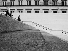 Berlin - Museumsinsel - Treppe an der James-Simon-Galerie (Claudia L aus B) Tags: berlin bezirkmitte museumsinsel jamessimongalerie treppe stairs