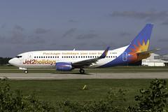 Jet2 737-300 G-GDFB at Manchester MAN/EGCC (dan89876) Tags: jet2com jet2 boeing 737 b733 737300 73733a manchester international airport takeoff 23l departure man egcc