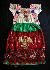 China Poblana Skirt Blouse Puebla Mexico (Teyacapan) Tags: mexican blouse skirt puebla chinapoblana ropa clothing trajes