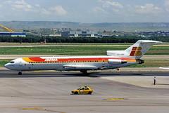"Iberia Boeing 727-200 EC-CBF ""Gran Canaria"" (gooneybird29) Tags: flugzeug flughafen aircraft airport airplane airline mad madrid iberia boeing 727 eccbf"