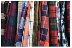 plaid memories (mcfcrandall) Tags: kilts wool plaid vintage forsale store kensington toronto topw topwrs2019 torontophotowalks