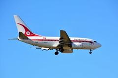 "(ORY) TunisAir Boeing 737-600  TS-IOP ""retro livery""Landing runway 06 (dadie92) Tags: orly ory lfpo tunisair b737 b737600 tsiop retrolivery runway06 spotting aircraft airplane landing tunis tunisie nikon d7100 tamron sigma danieldanel"