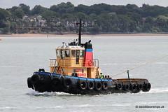 Ship. Wyeforce (dickodt65) Tags: ship southampton tug towage wyeforce