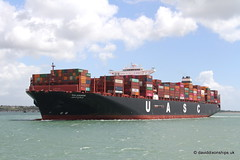 Ship. Salahuddin 9708796 (dickodt65) Tags: ship southampton containership uasc salahuddin