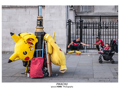 Pikachu (Ignacio Ferre) Tags: london londres greatbritain granbretaña lumix panasonic reinounido unitedkingdom inglaterra england pikachu pokémon amarillo yellow