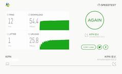 KPN speedtest (Arne Kuilman) Tags: kpn telfort speedtest mijntelfort adsl internet speed upload download snelheid