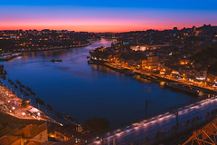 Untitled (Chang Tai Jyun) Tags: city colors europe fuji fujifilm porto portugal street streetphotography xt20 night nightl nightlife nightview sunset river landscape cityscape color colour