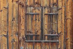 Camouflaged window (Ulrich Neitzel) Tags: closed fenster fensterladen holz mzuiko14150mm olympusem5 shutter texture verwittert weathered window wood camouflage