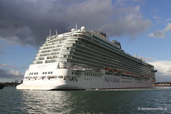 Ship. Britannia 9614036 (dickodt65) Tags: ship southampton cruise cruiseship britannia