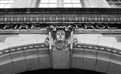 West Third Street (neilsonabeel) Tags: nikonfm2 nikon nikkor mascaron newyorkcity manhattan film analogue blackandwhite building greenwichvillage