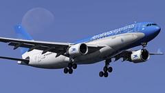 LV-GKP_JFK_Landing_04R_Moon (MAB757200) Tags: aerolineasargentinas a330203 lvgkp aircraft airplane airlines airport jetliner jfk kjfk airbus landing runway04r moon