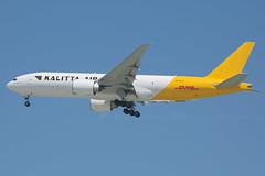 N772CK B777-200LRF Kalitta Air / DHL (JaffaPix +5 million views-thanks...) Tags: b777 b77f b77l b777200lrf boeing 777 cargo freighter dhl obbi aeroplane airplane aircraft aviation airline airliner n772ck k4 cks kalittaair flight flying inflight