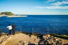 Mirando al mar (SantiMB.Photos) Tags: 2blog 2tumblr 2ig laselva invierno winter playa beach costabrava motog3 móvil phone geo:lat=4167061181 geo:lon=279194789 geotagged blanes cataluna españa