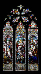 Stained glass window.jpg (uplandswolf) Tags: mktdeeping marketdeeoing lincs lincolnshire thedeepings