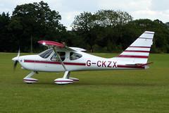 G-CKZX Glasair GlaStar cn 5374 Sywell 01Sep19 (kerrydavidtaylor) Tags: orm egbk sywellaerodrome northamptonshire