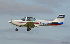 F-GUKB FRENCH AIR FORCE G 120 (Apple Bowl) Tags: fgukb g120tp french air force raf cranwell trainer