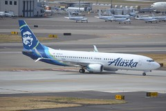N516AS (LAXSPOTTER97) Tags: alaska airlines boeing 737 n516as 737800 cn 39044 ln 2751 aviation airport kpdx airplane
