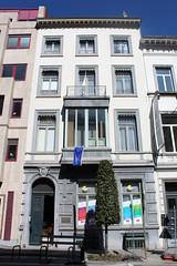 Hôtel Hèle, Brussel (Erf-goed.be) Tags: hôtelhèle maisondelafrancité brussel archeonet geotagged geo:lon=43706 geo:lat=508463