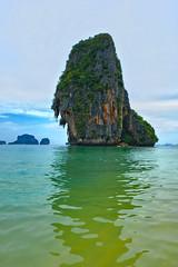 Thailand Krabi (13gostreet) Tags: thailand krabi mountain sea water travel nature таиланд краби скала море вода путешествие природа raileybeach