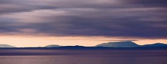 """Purple haze all in my brain, lately things don't seem the same.  Actin' funny but don't know why.  Scuse me while I kiss the sky."" ~~Jimi Hendrix (Irene2727) Tags: sunset clouds sky water sanjuanislands islands land landscape panorama waterscape purple haze coth5 elitegalleryaoi bestcapturesaoi aoi"