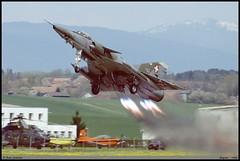 """MIRAGE III"" RS R-2111 Fliegerstaffel10 Payerne mai 1998 (paulschaller67) Tags: mirageiii rs fliegerstaffel10 payerne mai 1998 r2111"