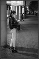 Arbat (Алекс Че) Tags: blackwhite night bw 2470 z6 nikon girl