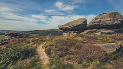 Curbar Edge and Froggatt Edge Hike. (Ian Emerson (Thanks for all the comments and faves) Tags: peakdistrict derbyshire landscape outdoor hiking england greatbritain canon6d canon autumn heather rocks views