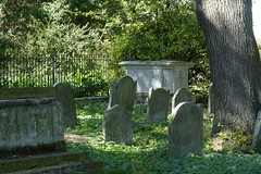 Saint Mary's Old Church Graveyard, Stoke Newington (Loz Flowers) Tags: london stokenewington hackney saintmarysoldchurchstokenewington graveyards gravestones graves