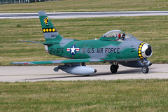 Canadair CL-13B-6 Sabre | Mistral Warbirds (James Hancock Photography) Tags: jersey air display 2019 jiad aviation aircraft airshow photography photojournalism planes photo jet