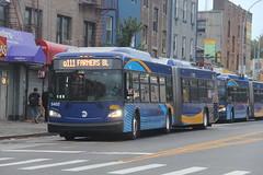 IMG_8161 (GojiMet86) Tags: mta nyc new york city bus buses 2016 xd60 5402 q111 parsons blvd 88th avenue