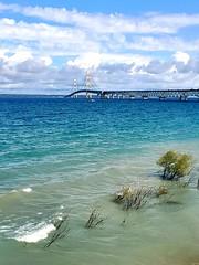 Lake Michigan Blues (Neil Noland) Tags: mackinawcity fortmichilimackinac michigan mackinacbridge lakemichigan