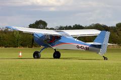G-CLEI Aeropro Eurofox 2K cn 55719 Sywell 01Sep19 (kerrydavidtaylor) Tags: sywellaerodrome orm egbk northamptonshire kitfox