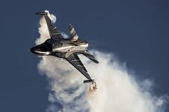 "General Dynamics (SABCA) F-16AM Fighting Falcon (401) FA-101 ""Dark Falcon"" Belgium - Air Force (WvB Photography - The Sky Is The Limit) Tags: weslyvb weslyvanbatenburg pentax pentaxk3 k3 sigma150500oshsm sigma airplane aviation airport sanicole airshow 2019 avgeek avporn general dynamics sabca f16am fighting falcon 401 fa101 darkfalcon belgium air force vador"