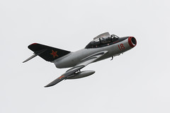 WSK-PZL-Mielec MiG-15UTI | Norwegian Air Force Historical Squadron (James Hancock Photography) Tags: jersey air display 2019 jiad aviation aircraft airshow photography photojournalism planes photo jet